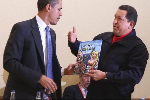 hugo chavez barack obama yacht people