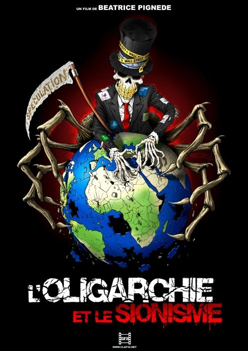 Affiche oligarchie et le sionisme
