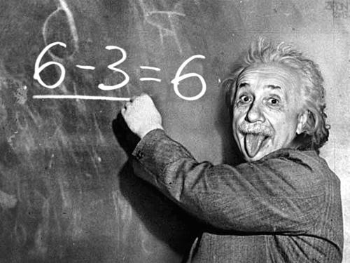 Einstein formule tableau