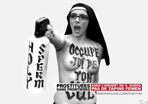 Putes Sans Frontieres femen