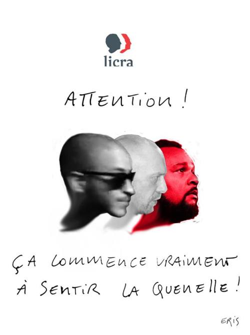 Eris soutien Zeon Soral Dieudonné vs licra