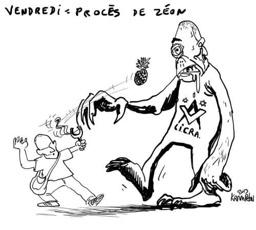 Krampon procès Zéon face à la LICrA