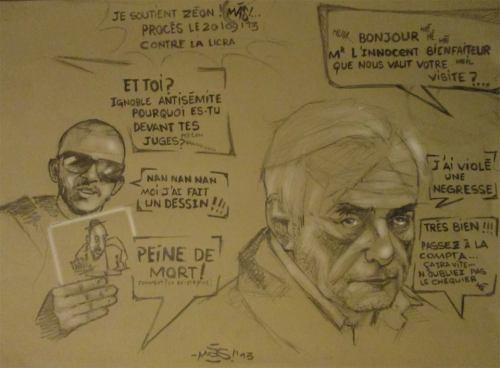 Mas soutien Zeon vs licra DSK viol